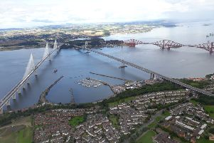 A driverless bus will cross the Forth.