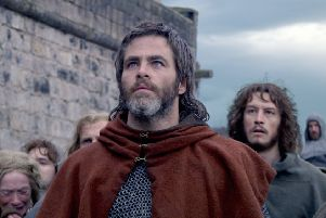 Chris Pine as Robert the Bruce in Outlaw King. Picture: Contributed
