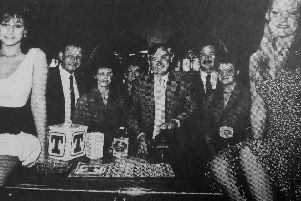 Kirkcaldy 1988 - the opening of Eddy's Bar in