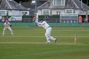 Action from Glenrothes Cricket Club