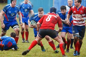 Kirkcaldy prop Danny Jennings is close to full fitness and could feature against Kelso. Pic: Michael Booth