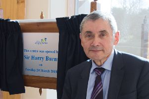 Volunteers are delighted that Sir Harry has agreed to come to Kirkcaldy for their AGM.