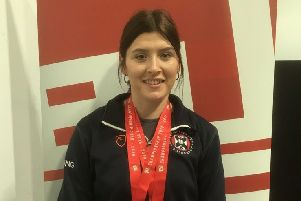 Glenrothes fencer Chloe Dickson wins gold and silver at the British University College Sports individual fencing championships