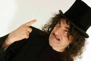Jerry Sadowitz returns to Fife with new live show