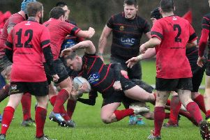 Glenrothes and Grangemouth Stags in action (picture: Alan Murray)