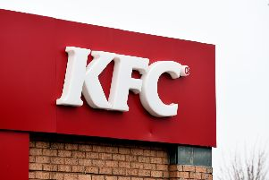 KFC have been advertising for Glenrothes staff.
