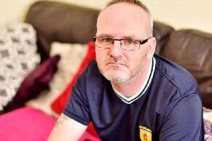 Barry Innes, from Kirkcaldy, says his accent makes him stand out despite other fans having even worse language.