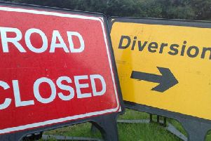 Diversions will be in place.