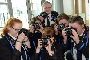 Ambitious photograhic project set to celebrated the great and the good of Kirkcaldy. (pic George McLuskie).