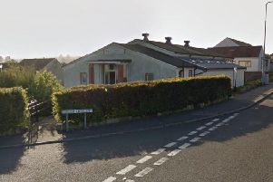 The Hayfield Community Centre was targeted.