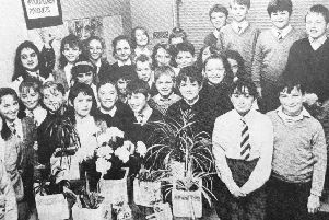Dunearn Primary School's Woodpecker Products in 1991