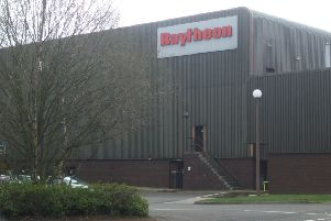 Raytheon's factory in Glenrothes