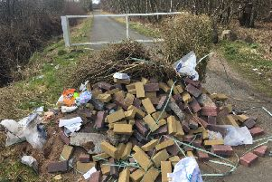 Instances in fly tipping accross Fife have increased by a third in just three years.