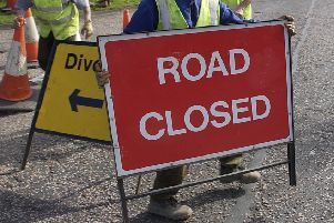 A section of A92 is to be closed in both directions to allow for resurfacing this weekend.