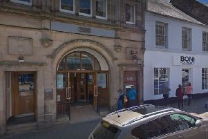 The TSB branch in Cupar which has announced will now operate reduced opening hours.