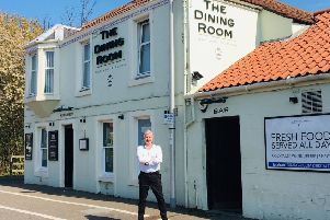 Colin Wallace, restaurant manager at the Dining Rooms.