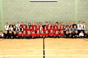 In Pictures: This year's primary school leavers in Kirkcaldy district as they looked in P1 back in 2012