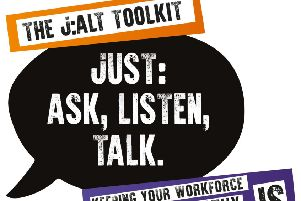 Just: Ask, Talk Listen - mental health toolkit in Fife