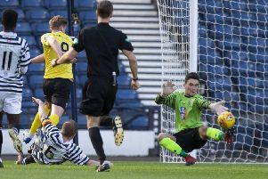 Brett Long and Jordan Hart will fight it out to be East Fife No 1