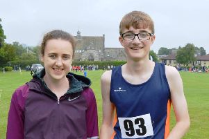 Scottish Athletics star Laura Muir at the Markinch Highland Games in 2018
