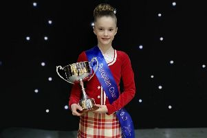 Leven dancer sets sights on becoming world champion