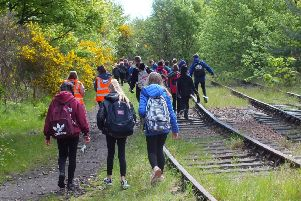 Huge show of support for Levenmouth Rail Campaign