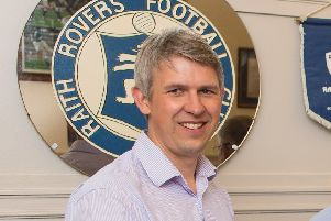Raith Rovers director Ali More.