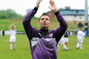 David McGurn, pictured in 2011, is returning to Raith Rovers. Pic: Neil Doig