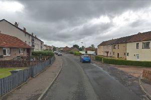 Liam Stewart made threats at Cheviot Road. Picture: Google