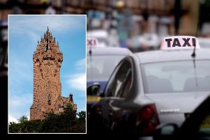 Young was found guilty of damaging the Wallace Monument in 2014.