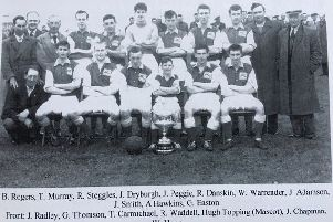St Andrews Swifts, 1959 Scottish Secondary Juvenile Cup champs.