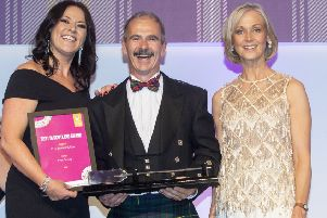 The awards were held in Glasgow. Pic: Katielee Arrowsmith.