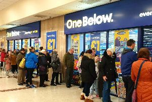 One Below is opening stores across the UK.
