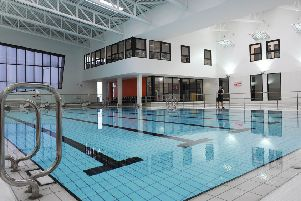 Kirkcaldy Leisure Centre.