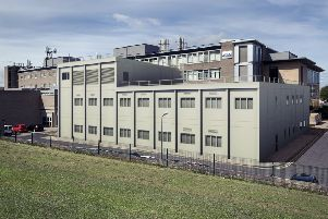 An artist's impression of the Portakabin building.