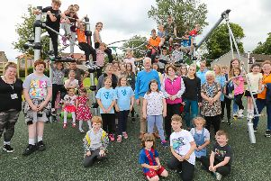 Glenrothes celebrates new play park opening