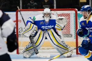 Andy Little, Fife Flyers back-up netminder 2019-20 (Pic: Derek Young)