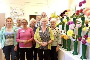 Committee members for Kinghorn Village Show. Pic  Fife Photo Agency.
