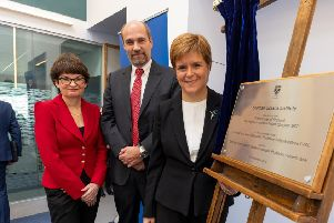 First Minister opens new Scottish Oceans Institute in Fife