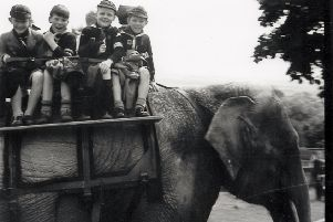 A 1956 trip to Edinburgh Zoo