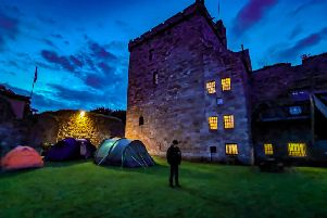 Scottish Paranormal has held events at Balgonie Castle.