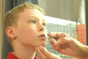 Flu nasal spray delay could disrupt vaccine programme for young Fifers