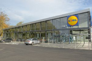 How the new Lidl store in Kirkcaldy would look.