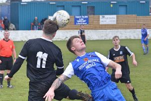 Liam Craig in action for Kennoway against Armadale.