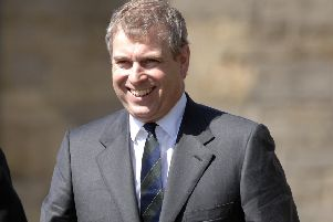 Prince Andrew (Pic: Ian Rutherford)