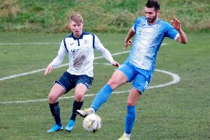 Musselburgh v Dundonald - match action. Pic: George Wallace