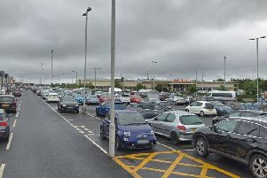 Fife Central Retail Park in Kirkcaldy.