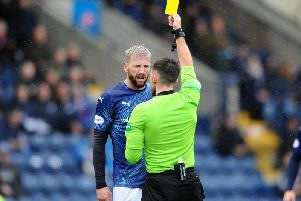 Iain Davidson has been hit with a four match ban. Pic: Michael Gillen