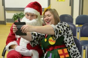 NHS Fife staff launch annual Christmas video