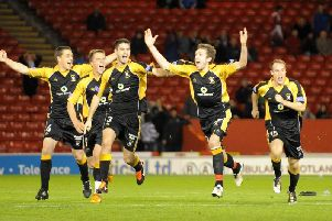 Aberdeen 3-3 East Fife (3-4 pens)'East Fife goalkeeper Mark Ridgers saved three penalties in a shoot-out as East Fife recorded a stunning win.